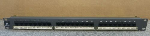 Mod-Tap 214-850 24 Port Cat5e Ethernet RJ45 Patch Panel 1U 19""